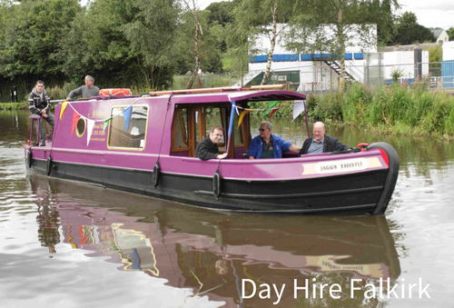 Canal Boat Day Hire Falkirk