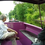 jaggy thistle canal boat