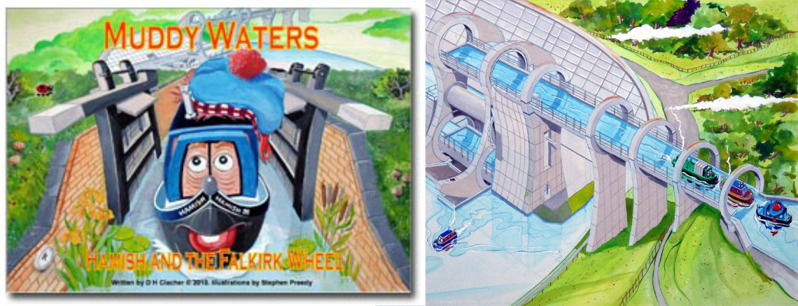 Hamish and the Falkirk Wheel