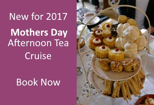 Mothers Day Afternoon Tea Cruise Edinburgh