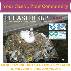 Join Our Canal Clean up